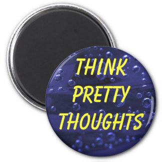 Piense el imán bonito de los pensamientos