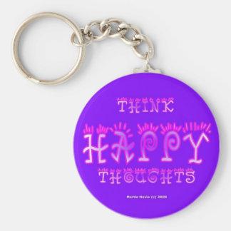 Piense el llavero feliz de los pensamientos (5a)