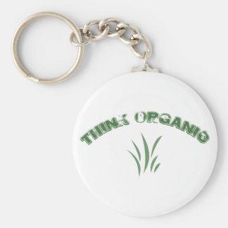Piense el llavero orgánico