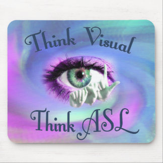 Piense el mousepad visual
