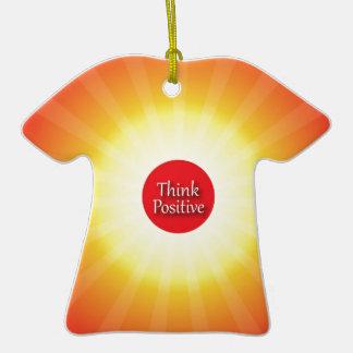 Piense el positivo ornamente de reyes