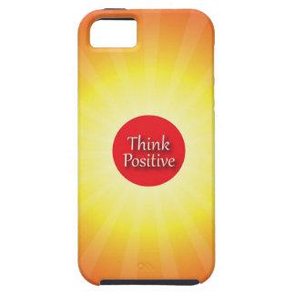 Piense el positivo iPhone 5 Case-Mate cobertura