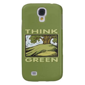 Piense el roble verde