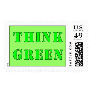 Piense el sello verde