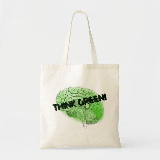 ¡Piense el verde! Bolsa