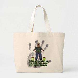 Piense el verde bolsa de mano