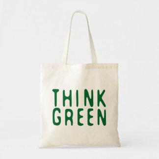 Piense el verde bolsas