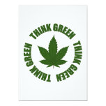 Piense el verde comunicados personales