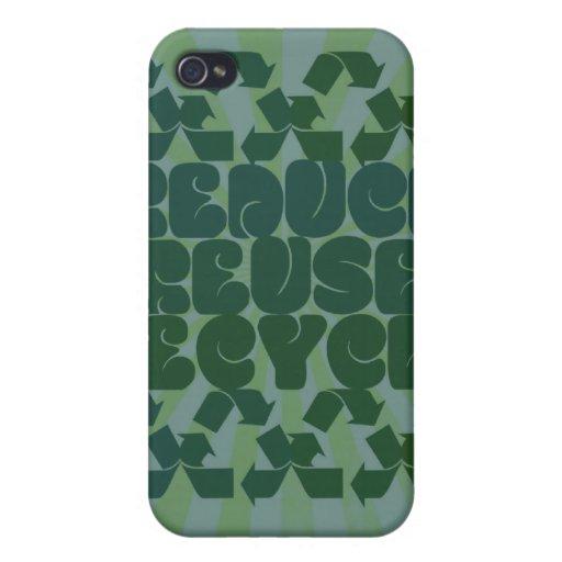 Piense el verde iPhone 4/4S carcasa