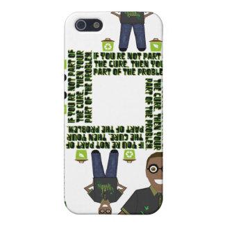Piense el verde iPhone 5 cárcasas