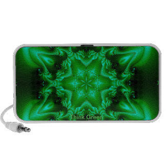 Piense el verde mp3 altavoz