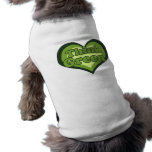Piense el verde para el ecologista del Día de la T Ropa Macota