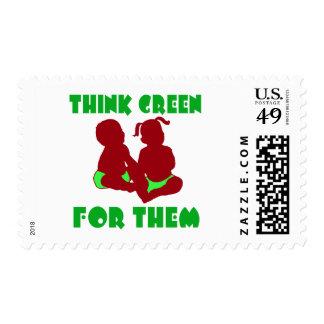 Piense el verde para ellos envio