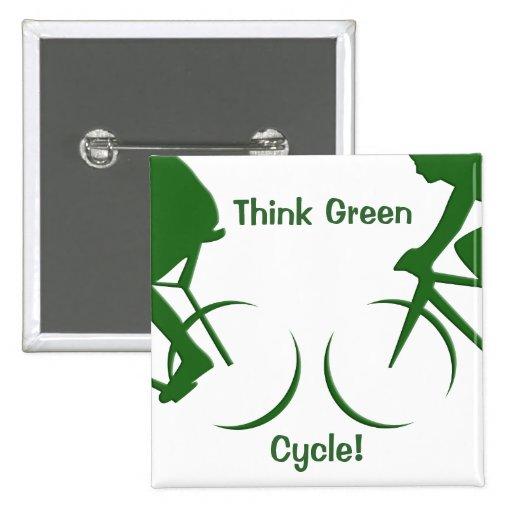 Piense el verde pins