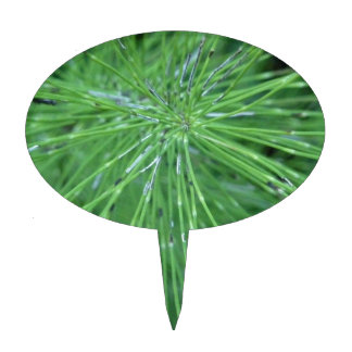 ¡Piense el verde! por GRASSROOTSDESIGNS4U Figuras Para Tartas