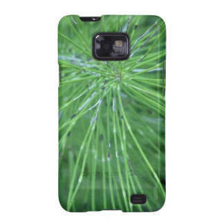 ¡Piense el verde! por GRASSROOTSDESIGNS4U Galaxy SII Fundas