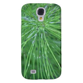 ¡Piense el verde! por GRASSROOTSDESIGNS4U Funda Para Galaxy S4