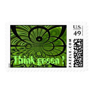 ¡Piense el verde! Envio
