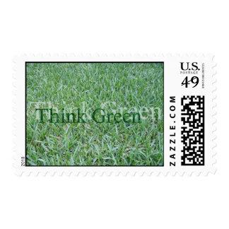 Piense el verde franqueo