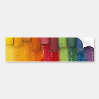 Piense en color pegatina para auto