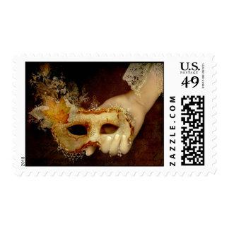 Piense en mí timbres postales