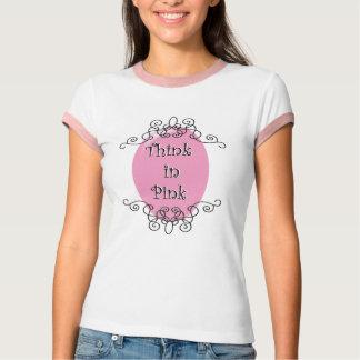 Piense en rosa camisas