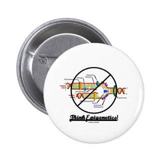 ¡Piense Epigenetics de la cruz réplica de la DNA Pin