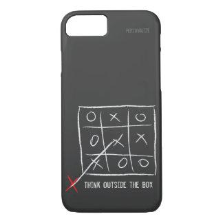 Piense fuera de la caja funda iPhone 7