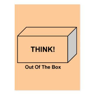 Piense fuera de la caja postal