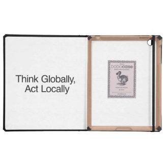 Piense global, acto localmente