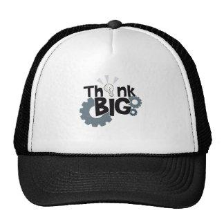 Piense grande gorras