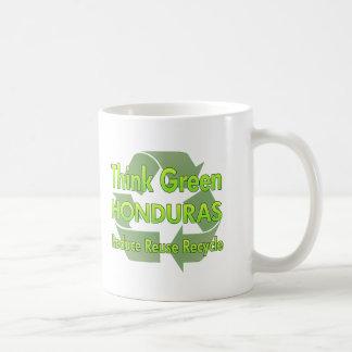 Piense Honduras verde Tazas De Café