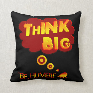 Piense la almohada grande cojín decorativo