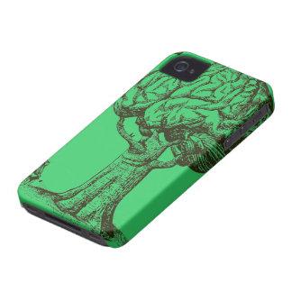Piense la caja verde del iPhone 4 iPhone 4 Funda