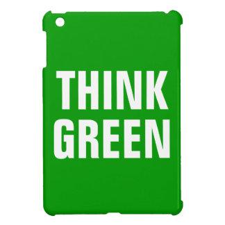 Piense la cita feliz de la conciencia verde
