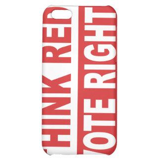 Piense la derecha roja del voto