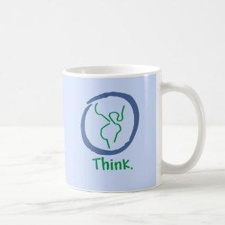 Piense la taza de la tierra