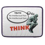 Piense la verdad fundas macbook pro