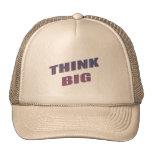 Piense las frases de motivación grandes gorras