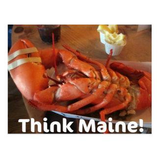 ¡Piense Maine Postal