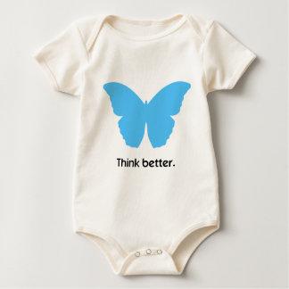 Piense mejor con MorphOS Body Para Bebé