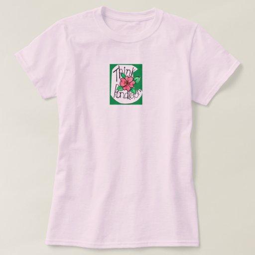 ¡Piense Pendleton! Camiseta de las señoras Poleras