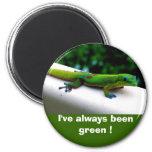 """""""Piense protección del verde"""" Imán Para Frigorífico"""