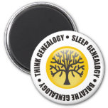 Piense que el sueño respira la genealogía imán