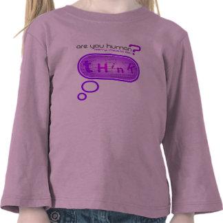 Piense - una camisa inteligente de Captcha
