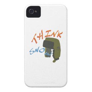 Piense Ushanka iPhone 4 Protector