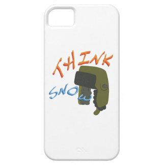 Piense Ushanka iPhone 5 Carcasa