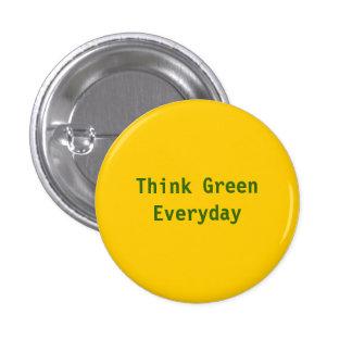 Piense verde diario - modificado para requisitos pin
