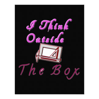 Pienso fuera de la caja de ZA Membretes Personalizados