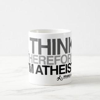 Pienso por lo tanto la taza